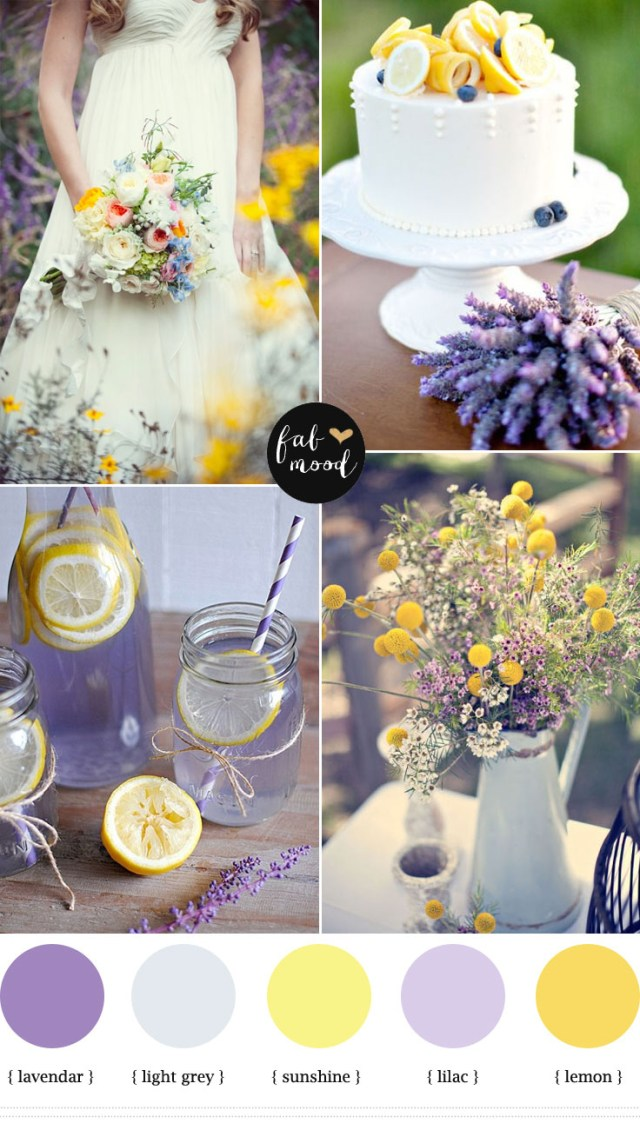 Lavender Wedding Decorations Lavender Wedding Decoration Ideas Lemon Lavender Wedding Colors