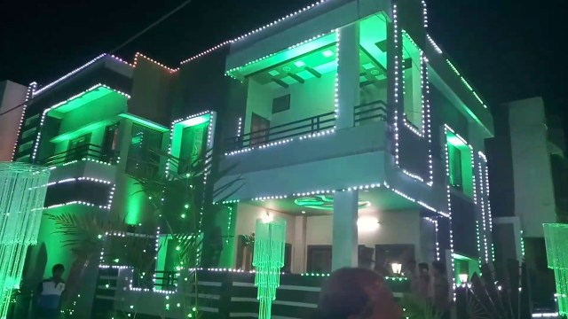 Light Decoration In Wedding Home Wedding Lighting Decorations Youtube