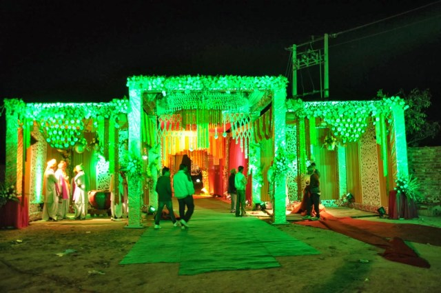 Light Decoration In Wedding Wedding Light Decoration