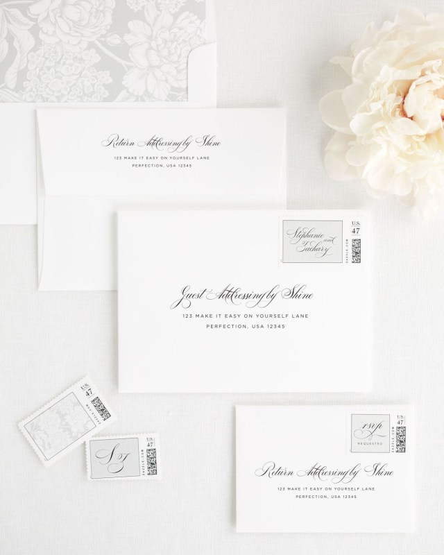 Mailing Wedding Invitations Delicate Elegance Wedding Invitations Wedding Invitations Shine