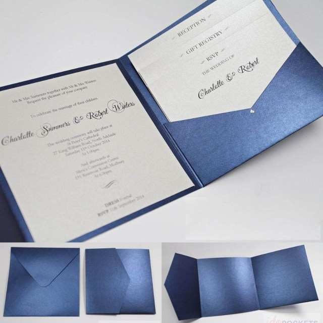 Making Your Own Wedding Invitations Make Your Own Wedding Invitations Kits Navy Google Search