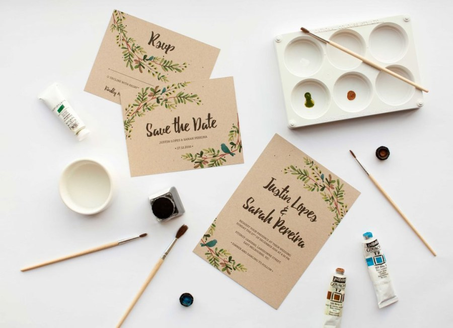 Making Your Own Wedding Invitations To Diy Or Not To Diy Get The Handmade Wedding Invitations Look