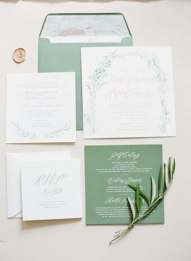 Mint Green Wedding Invitations Mint Color Wedding Invitations Unique Calligraphy And Design