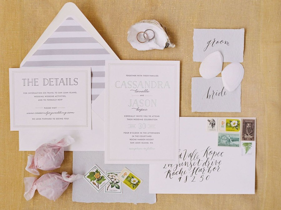 Mint Green Wedding Invitations When A Blogger Gets Married Cocokelleys Pacific Northwest Wedding
