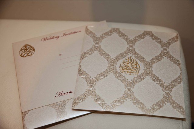 Muslim Wedding Invitations Muslim Wedding Cards Is A Well Known Brand In The Uk
