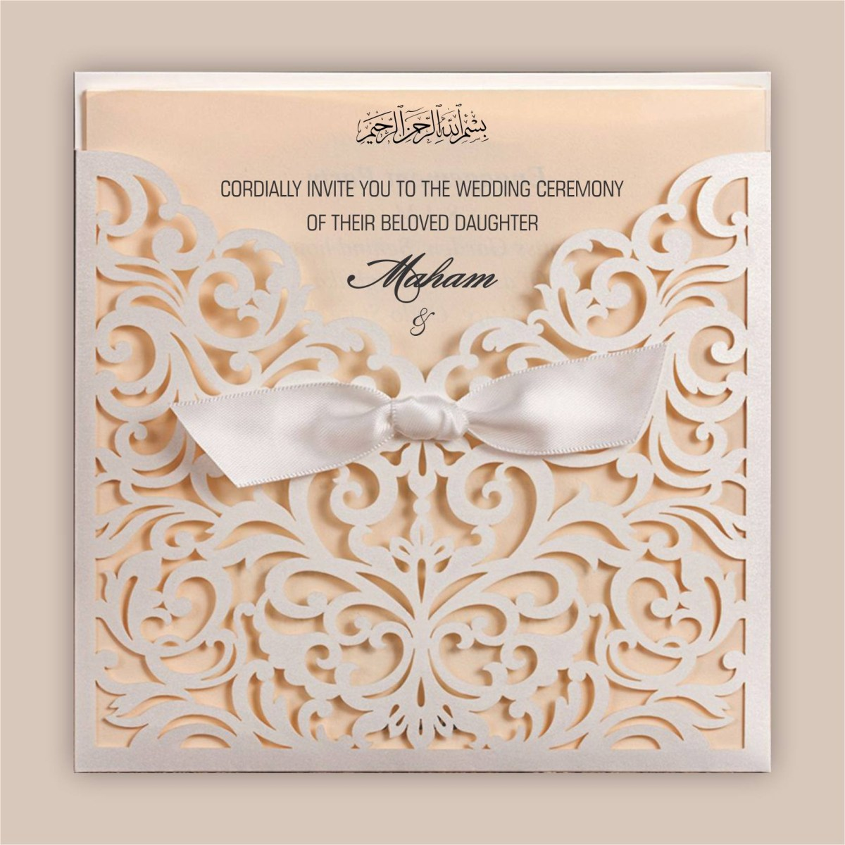 Muslim Wedding Invitations Planning Your Marriage With The Best Muslim Wedding Cards Qwedding