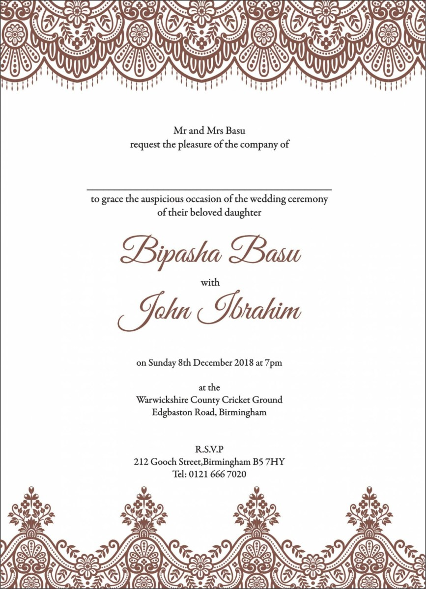Muslim Wedding Invitations Wedding Ideas Muslim Wedding Invitations Grandioseparlor