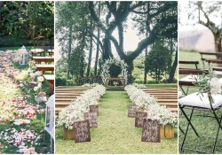 Outdoor Wedding Ceremony Decorations 25 Rustic Outdoor Wedding Ceremony Decorations Ideas