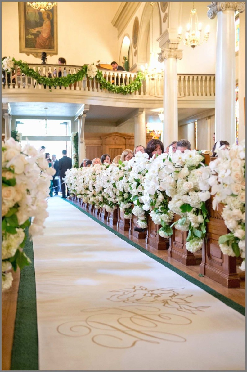 Pew Decorations For Weddings Aisle Decorations For Church Weddings 80 Wedding Aisleation Ideas