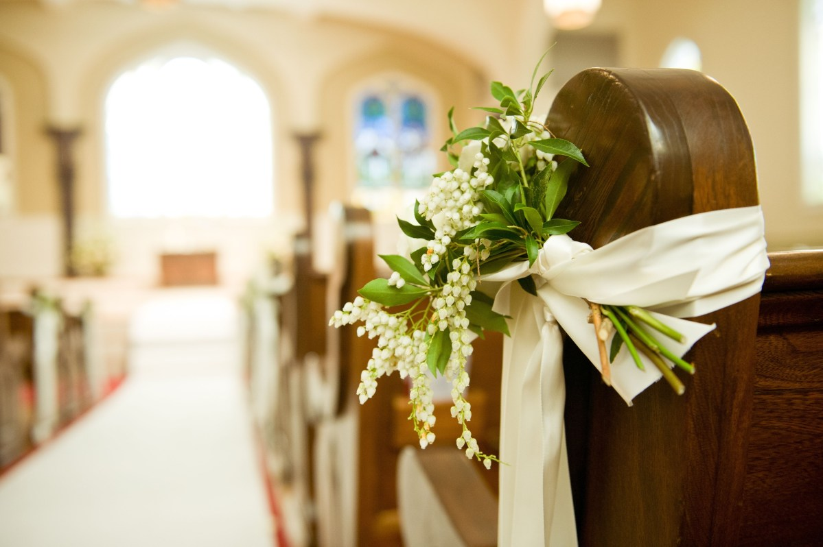 Pew Decorations For Weddings Unique Wedding Pew Decorations Unique Wedding Pew With Pics Photos
