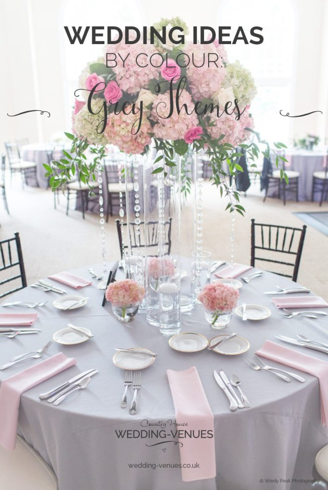 Pink Wedding Decorations Grey Wedding Theme Wedding Ideas Colour Chwv