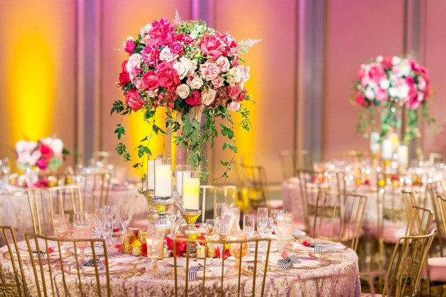 Pink Wedding Decorations Wedding Color Palette Pink And Gold Wedding Ideas Inside Weddings