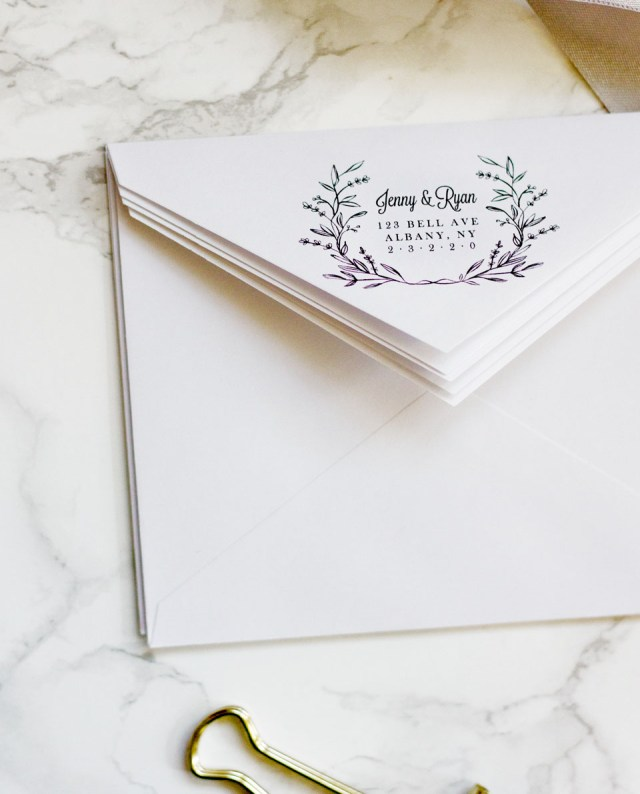 Print At Home Wedding Invitations Easy Printable Envelope Template Pipkin Paper Company