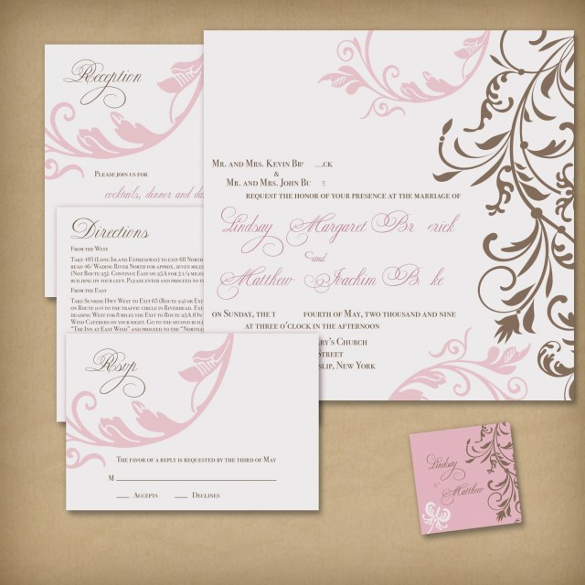 Print At Home Wedding Invitations Print Your Own Wedding Invitations Creating Wedding Invitations