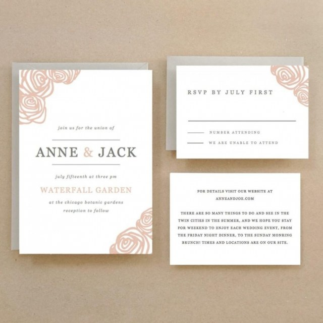 Print At Home Wedding Invitations Print Your Own Wedding Invitations Wedding Invitations