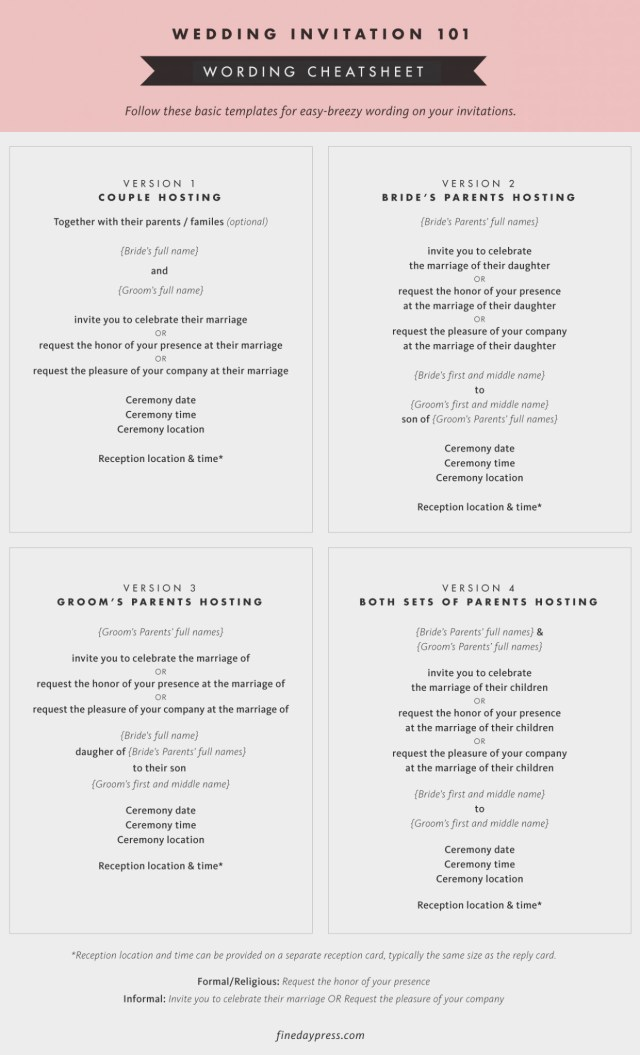 Proper Wedding Invitation 12 Awesome Things You Can Learn From Proper Wedding Ideas