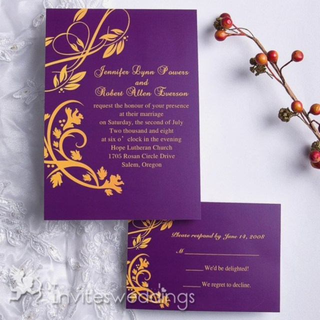 Purple And Gold Wedding Invitations Purple And Gold Wedding Invitations Unique Purple And Gold Summer