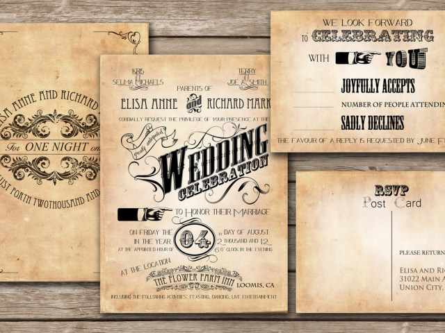 Retro Wedding Invitations Tips To Make An Unforgettable Wedding Invitation Wordinginterclodesigns