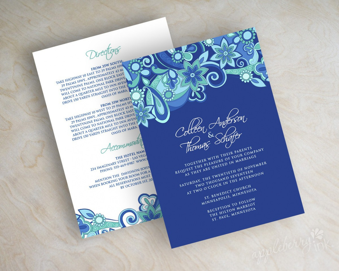 Royal Blue And Silver Wedding Invitations Royal Blue And Silver Wedding Invitations And The Invitations Of The