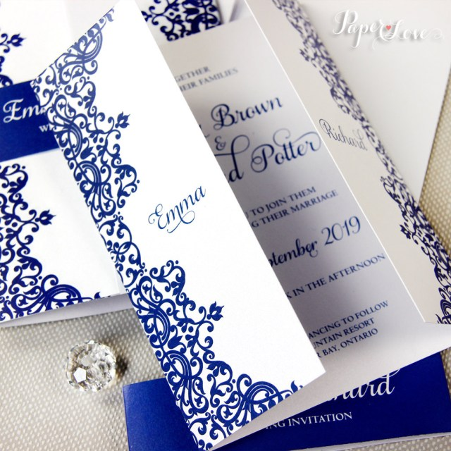 Royal Blue Wedding Invitations 14 Royal Wedding Invitation Designs And Examples Psd Ai