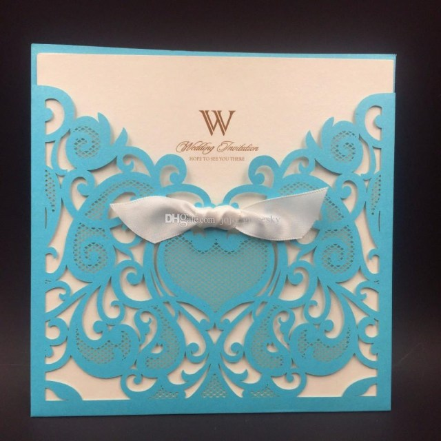 Royal Blue Wedding Invitations 2019 Royal Blue Wedding Party Invitation Card Romantic Cards