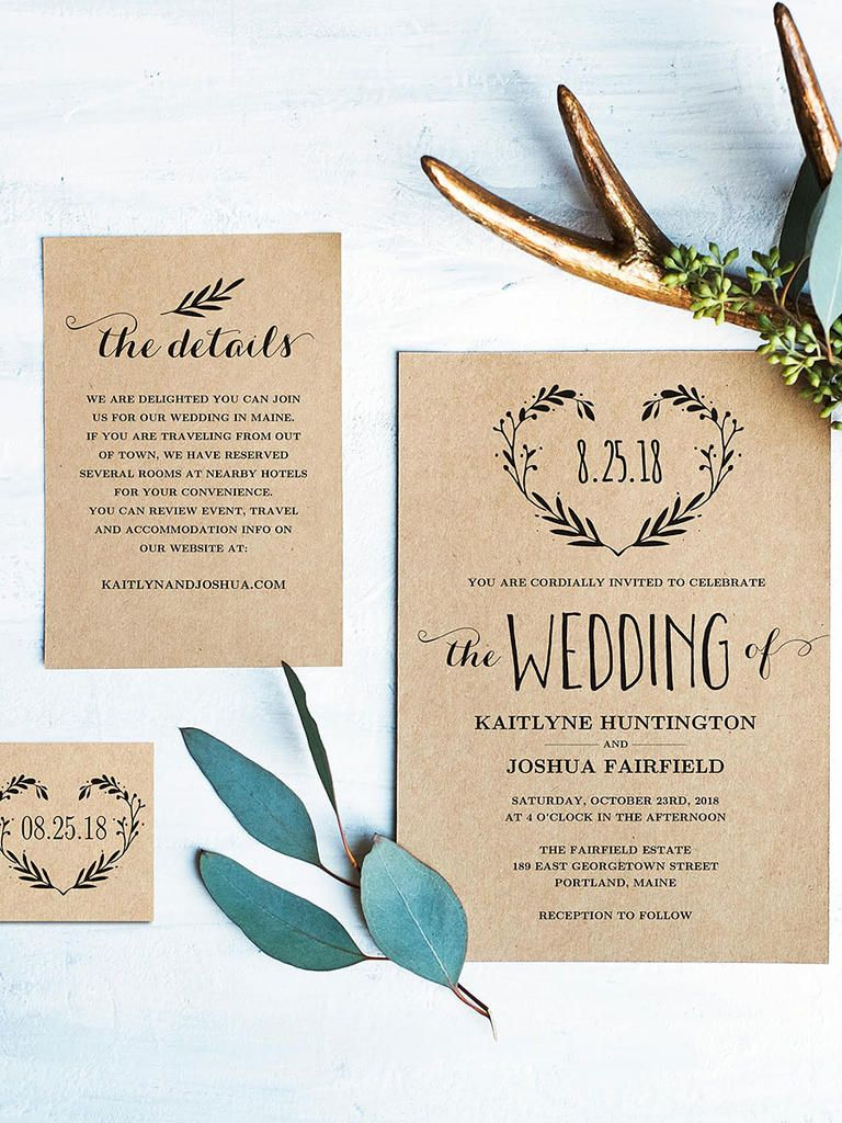 24+ Best Picture of Rustic Wedding Invitations Templates