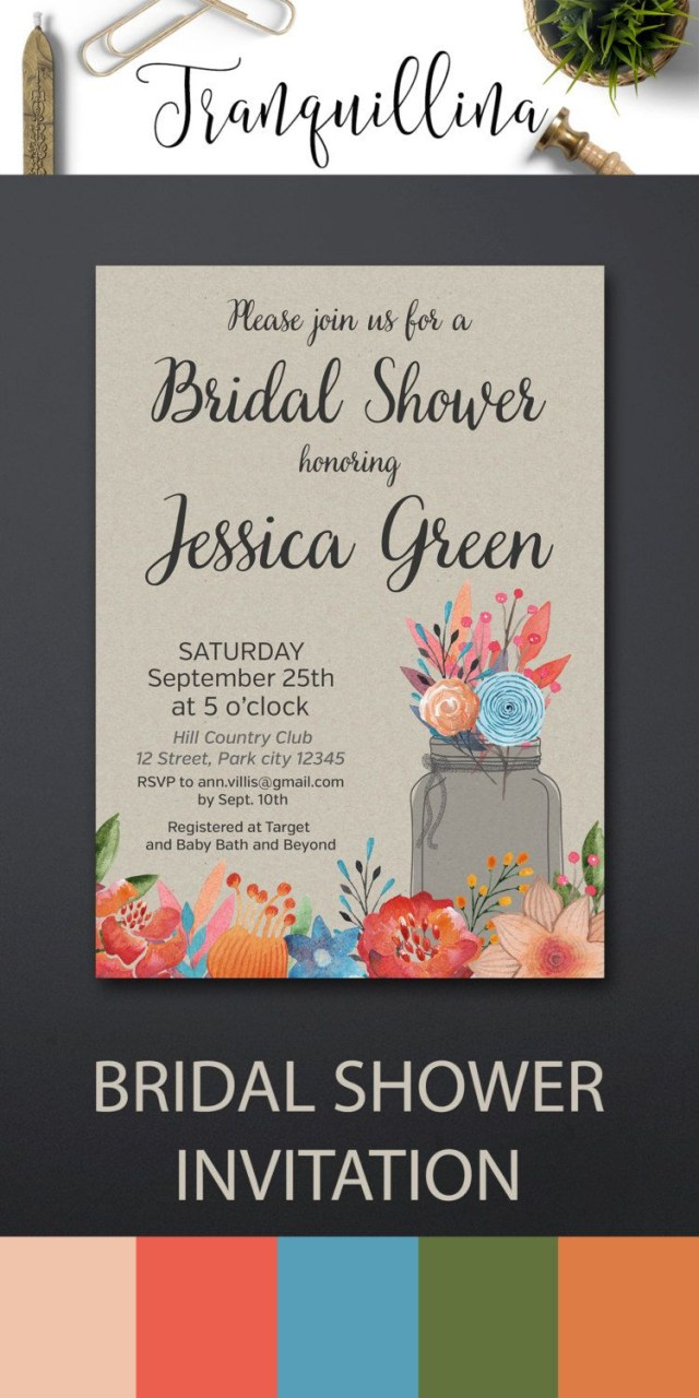 Rustic Wedding Shower Invitations Rustic Wedding Shower Invitations Lovely Country Bridal Shower