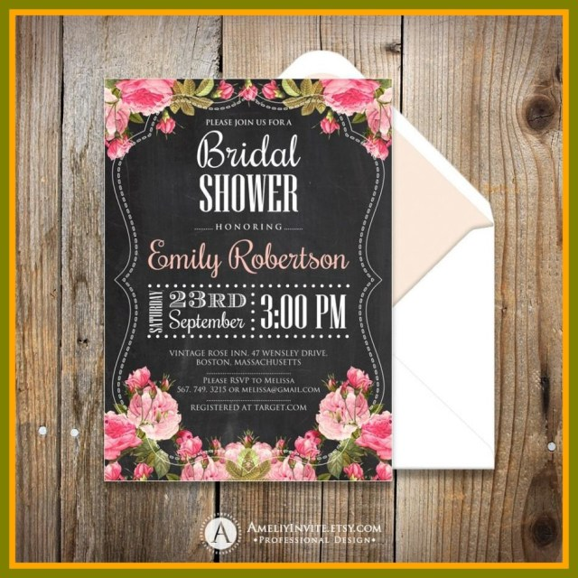 Rustic Wedding Shower Invitations Shab Chic Wedding Shower Invitations Best Of Fascinating Rustic