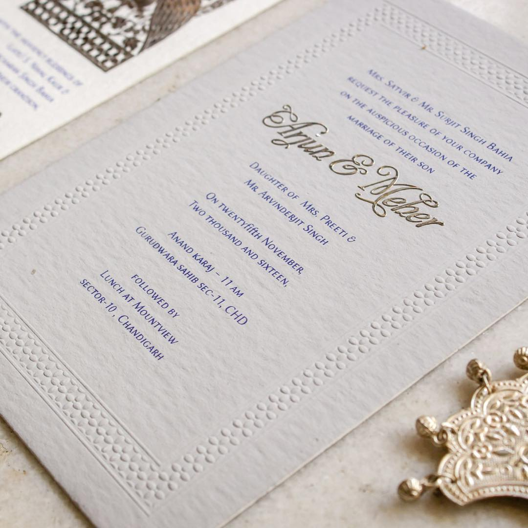 Sikh Wedding Invitations Indian Wedding Invitation Wording In English What To Say Guide