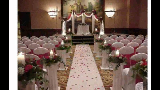 Simple Church Wedding Decorations Wedding Decorations For Church Youtube