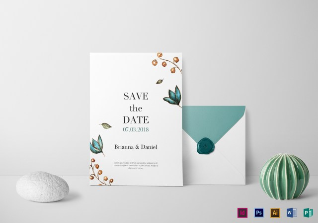 Simple Wedding Invitation Simple Wedding Invitation Design Template In Psd Word Publisher