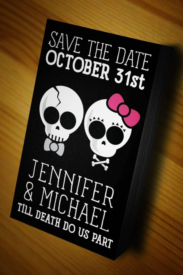 Skull Wedding Invitations Skull Wedding Invitations Invitations Ideas