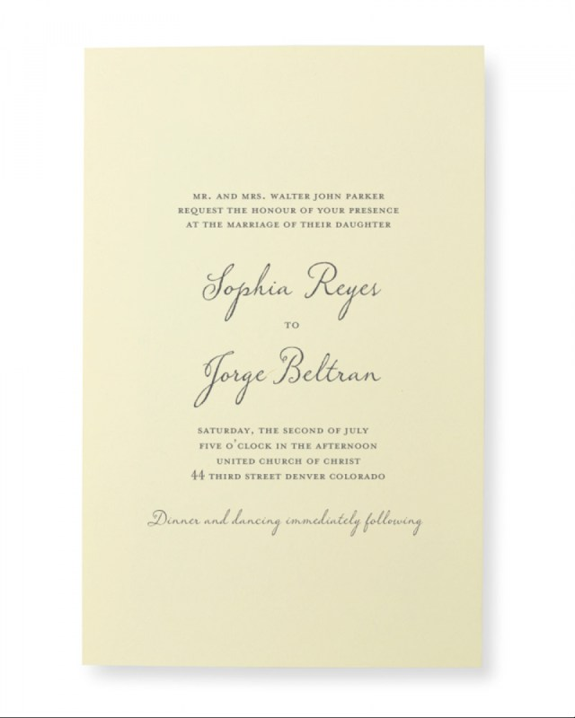 Teal Wedding Invitations Kits Ivory Print At Home Invitation Kit