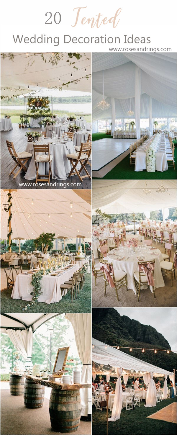 Tent Decorations For Wedding Tent Wedding Decor For Small Tents Tent Wedding Decor Tent