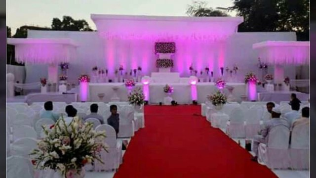 Traditional Wedding Tent Decorations Indian Wedding Decorations Theme Idea In Ahmadabad Gujarat Youtube