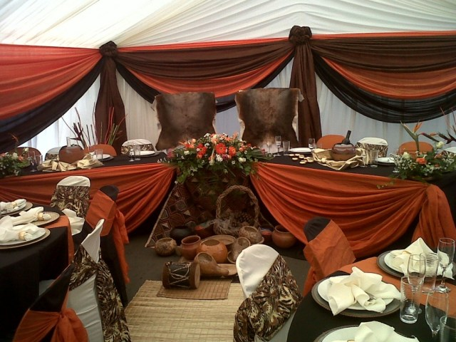 Traditional Wedding Tent Decorations Tswana Traditional Clothing Google Search South African In