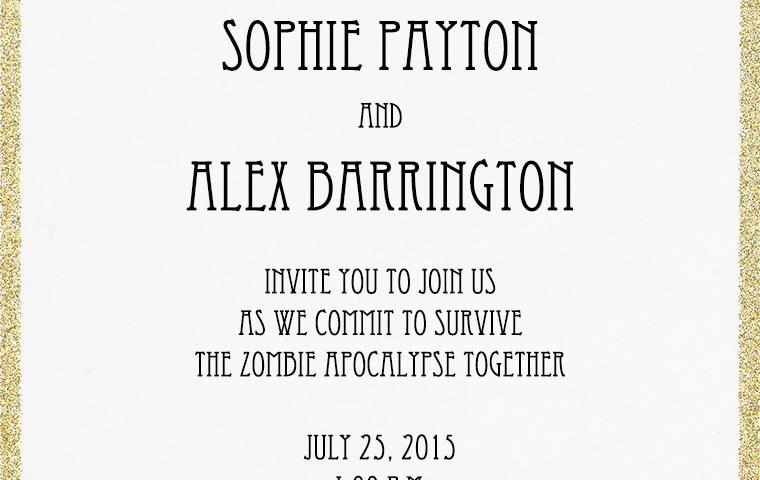 25 Elegant Picture Of Unique Wedding Invitation Wording