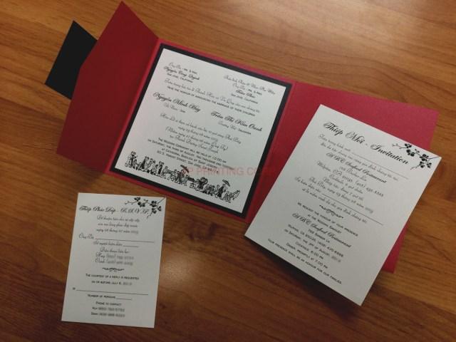Vietnamese Wedding Invitations Gallery Vietnamese Wedding Invitations For Invitation Card Example