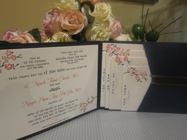Vietnamese Wedding Invitations Vietnamese Wedding Invitations Vietnamese Wedding Invitations With
