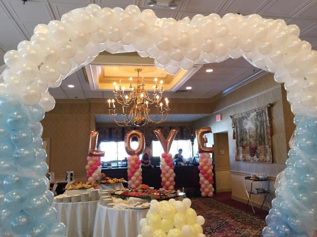 Wedding Balloon Decor Balloon Decor For Weddings Paintedyou