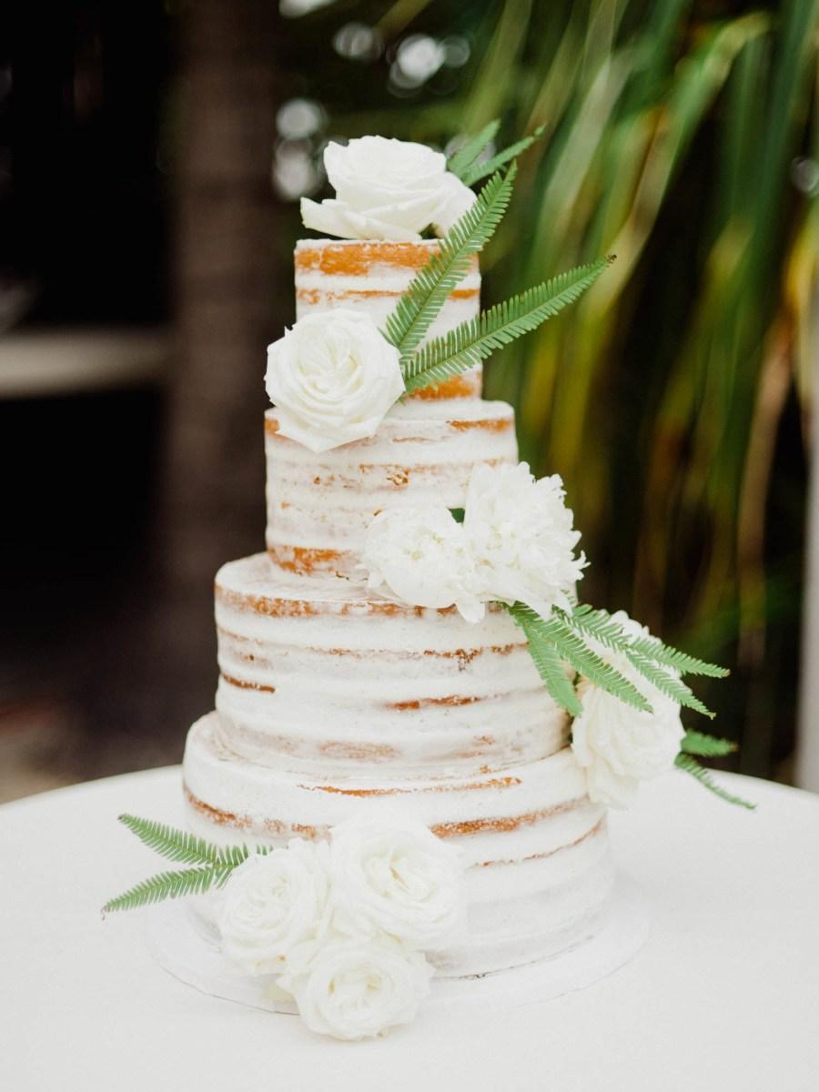 Wedding Cake Decoration Unfrosted Wedding Cakes Brides