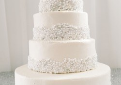 Wedding Cake Pearl Decorations Wedding Cake Pearl Decorations Pearl Wedding Cake Wedding Ideas