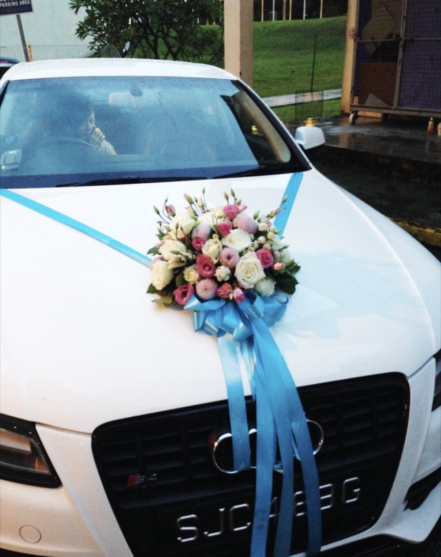 Wedding Car Decoration Bridal Car Decorations Door Handle Ribbons From 170 Onwards