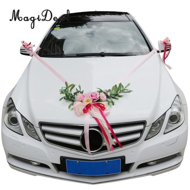 Wedding Car Decoration Kit Detail Feedback Questions About 9pcs Wedding Car Decorations Kit
