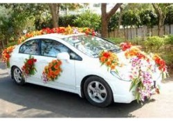 Wedding Car Decoration Wedding Car Decoration In Jammu Giftcakecard