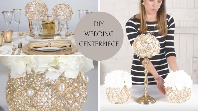 Wedding Decoration Ideas Diy Diy Wedding Centerpiece Wedding Decoration Ideas Diy Bling