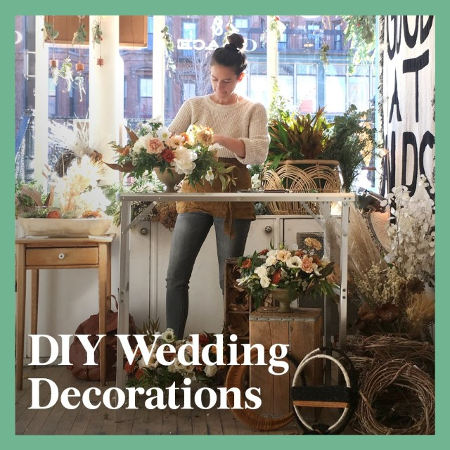 Wedding Decorations Handmade 13 Diy Wedding Decorations For The Ceremony And Reception Brides