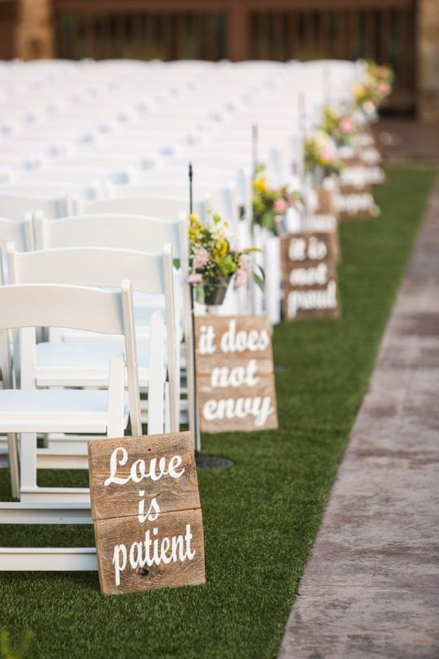 Wedding Decorations Handmade Decorating Diy Rustic Wedding Sign 25 Cheap And Simple Diy