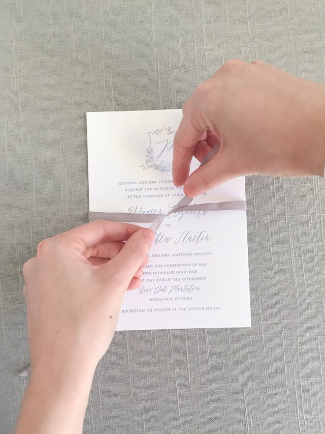 Wedding Invitation Assembly 3 Reasons For Your Stationer To Assemble Your Wedding Invitations