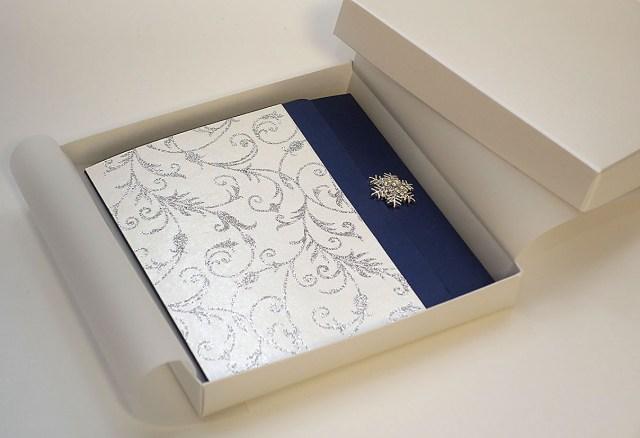 Wedding Invitation Boxes Partysoon White Belted Wedding Invitation Boxes Uk White Belted